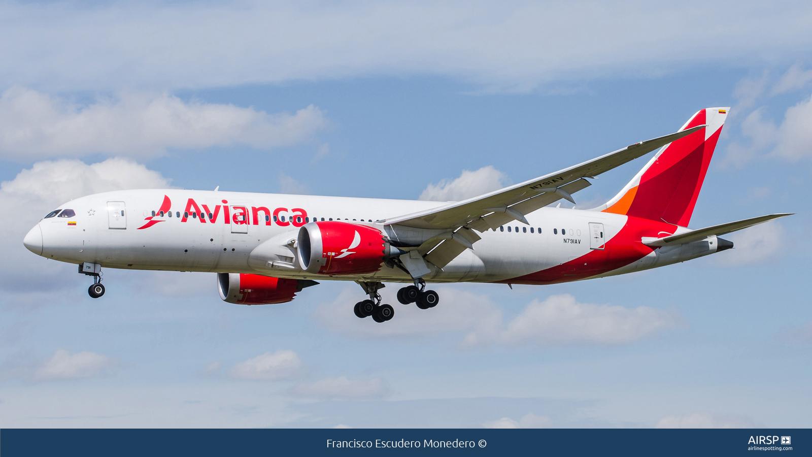Avianca  Boeing 787-8  N791AV