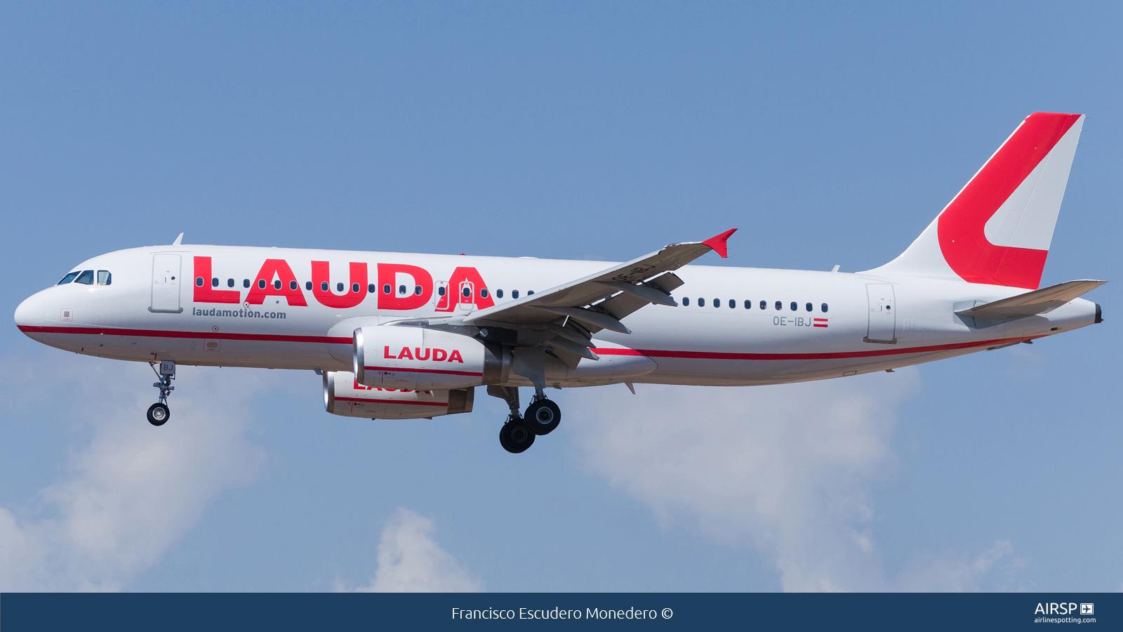 Laudamotion  Airbus A320  OE-IBJ
