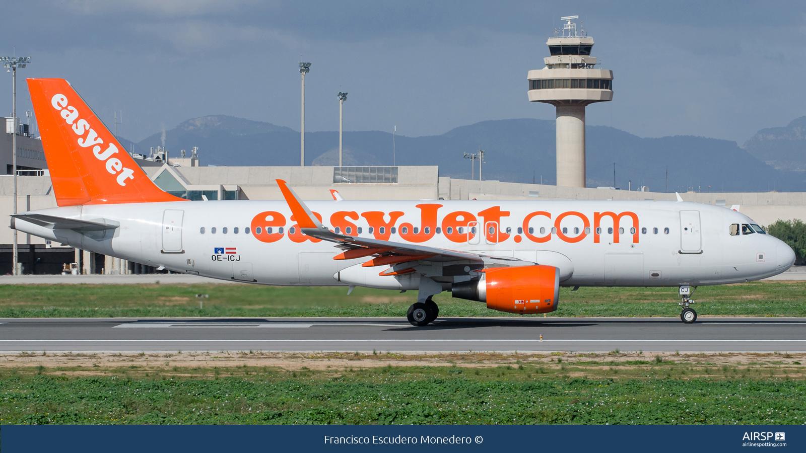 Easyjet  Airbus A320  OE-ICJ