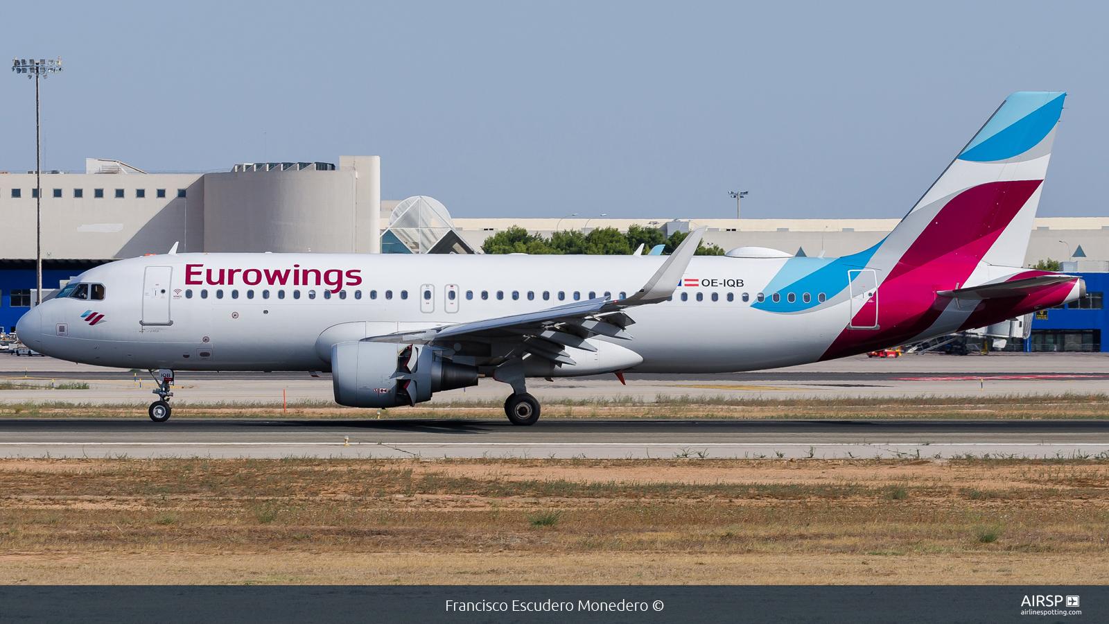 Eurowings  Airbus A320  OE-IQB