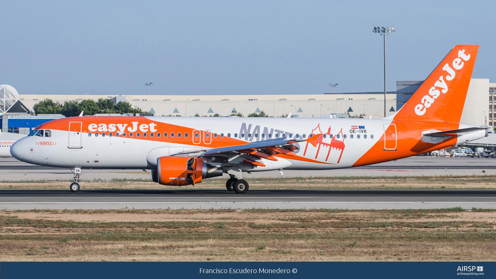 Easyjet  Airbus A320  OE-IVK