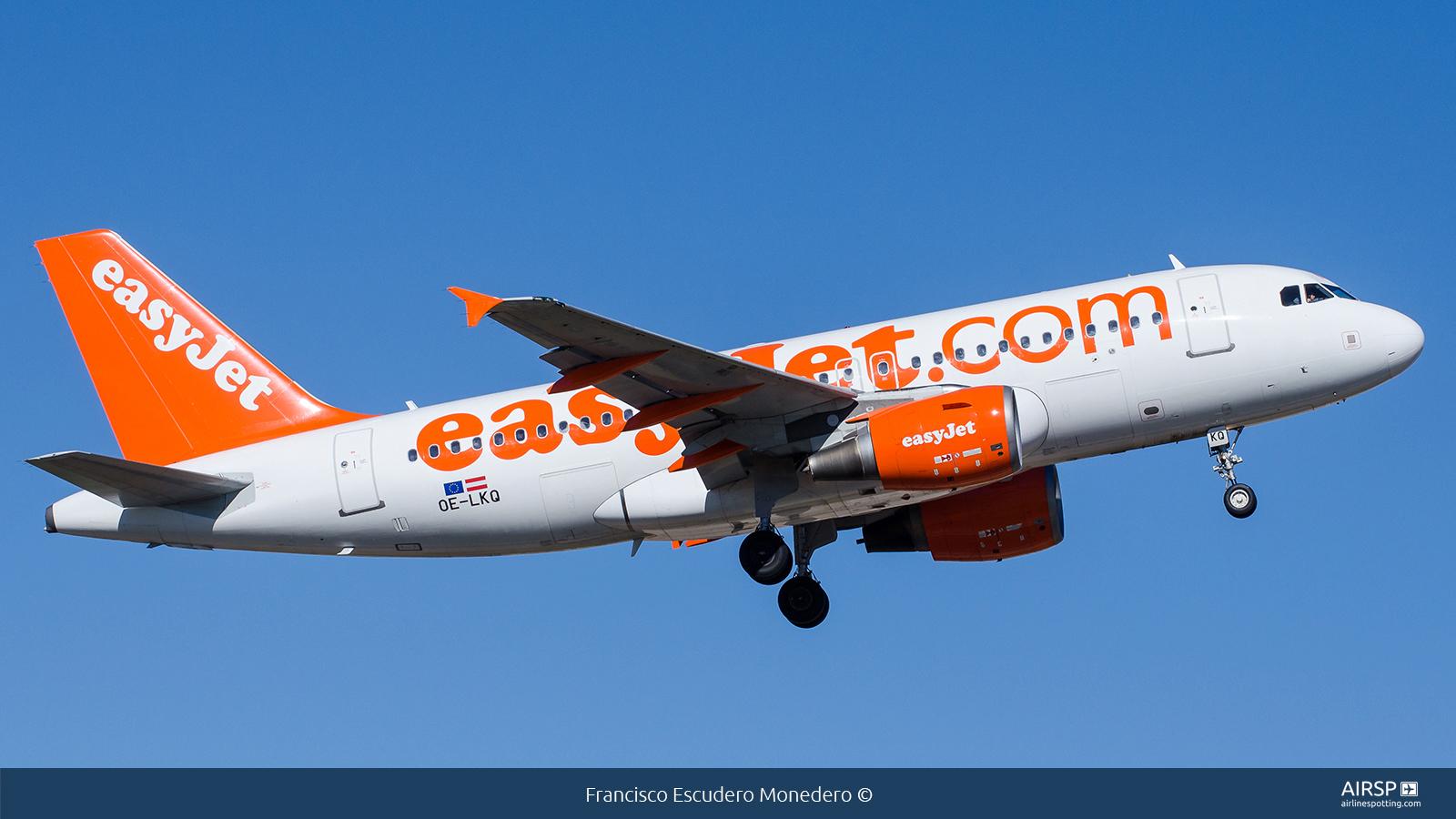 Easyjet  Airbus A319  OE-LKQ