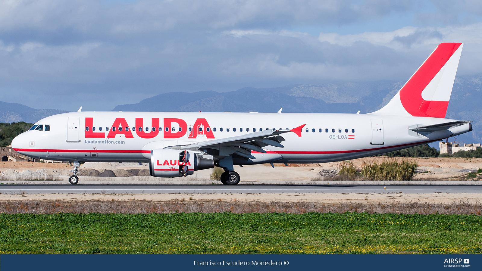LaudamotionAirbus A320OE-LOA