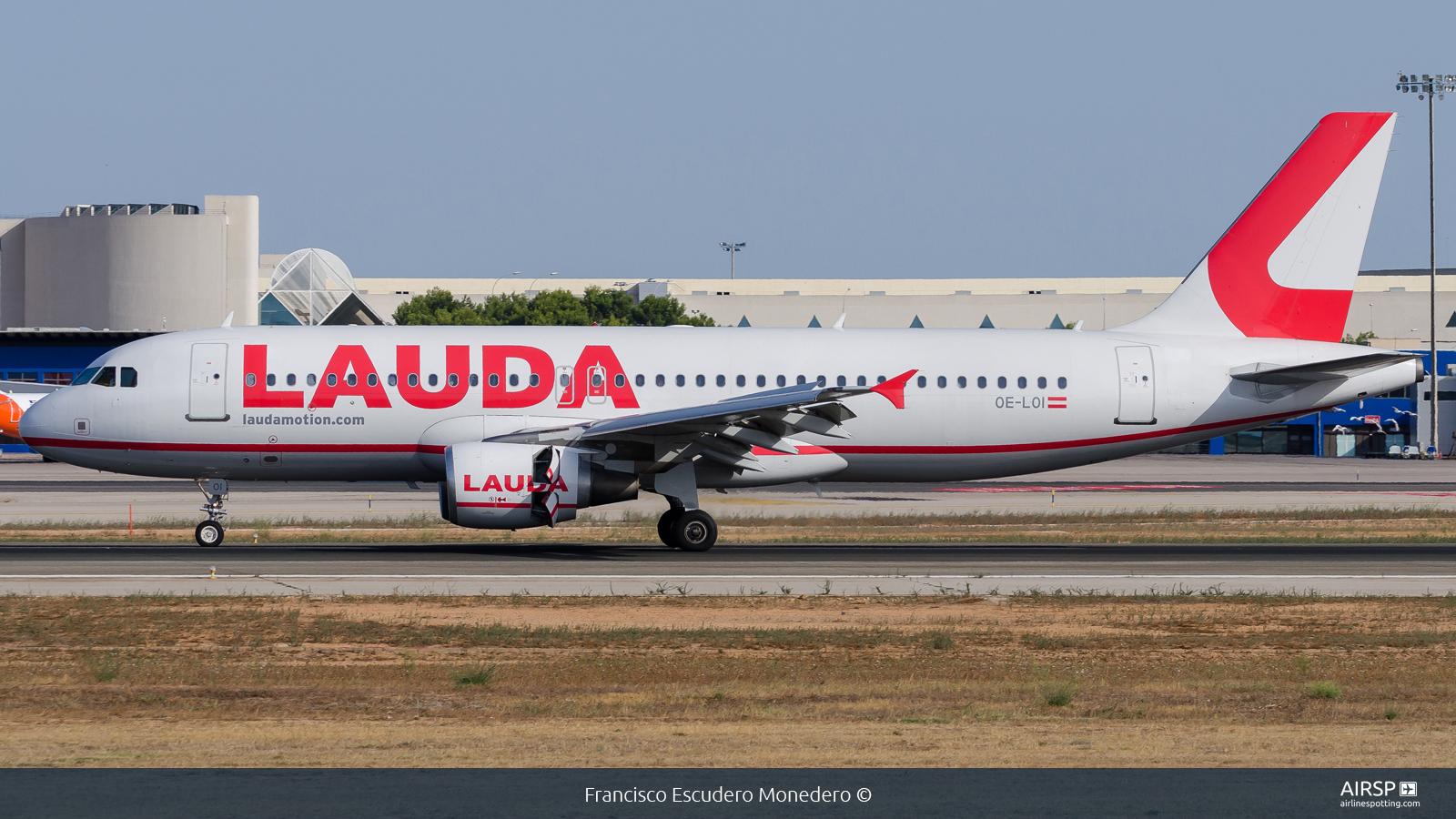 Laudamotion  Airbus A320  OE-LOI