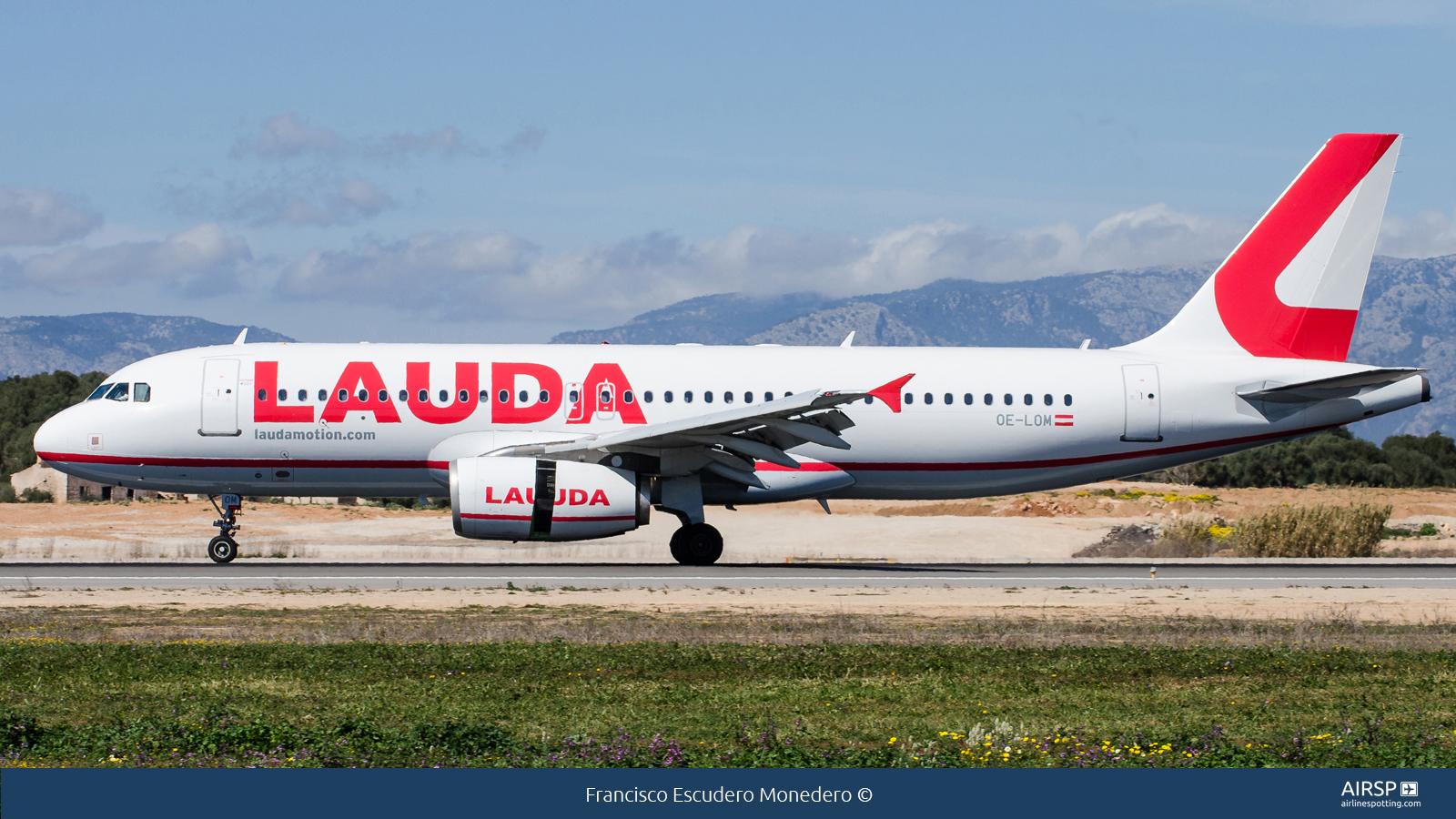 Laudamotion  Airbus A320  OE-LOM