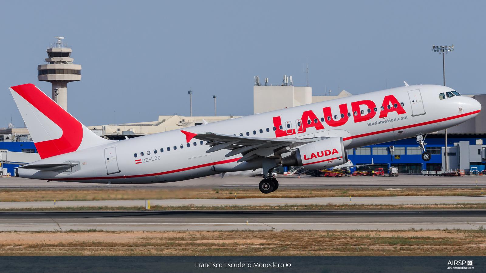 Laudamotion  Airbus A320  OE-LOO