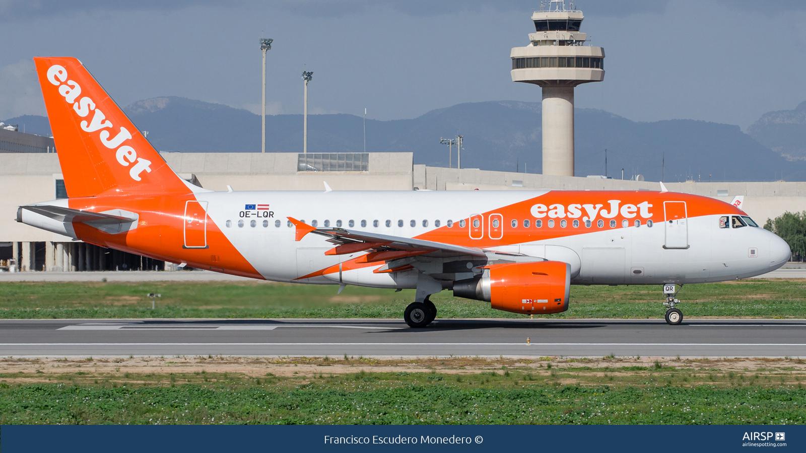 Easyjet  Airbus A319  OE-LQR