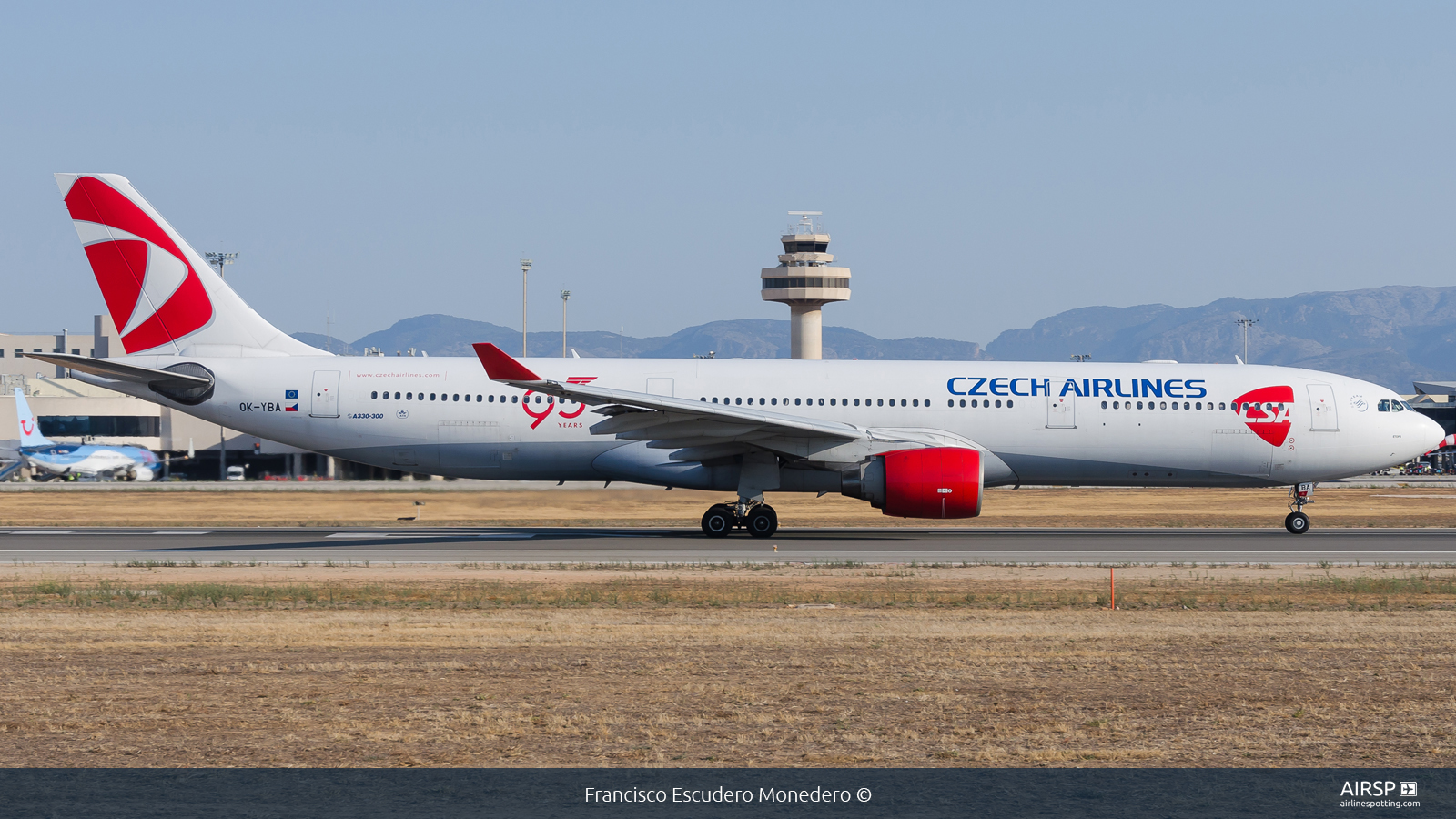 CSA Czech Airlines  Airbus A330-300  OK-YBA