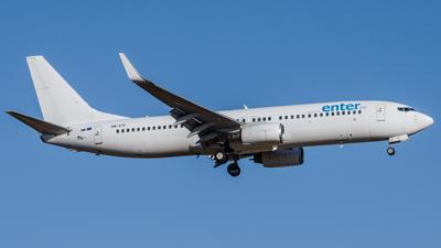 Enter Air Boeing 737-800
