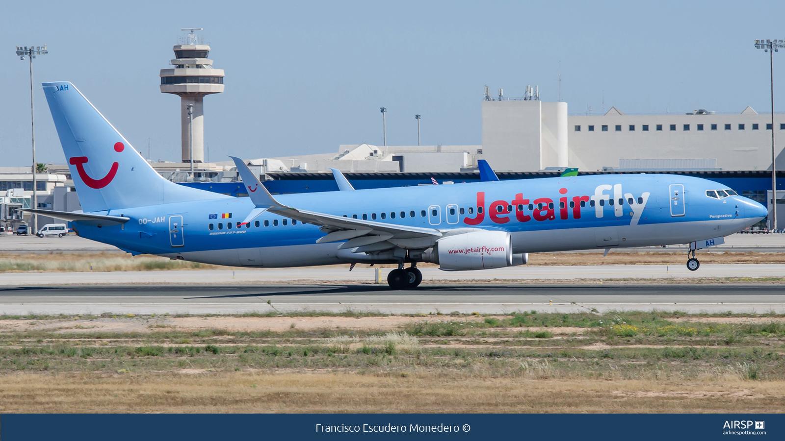 Jetairfly  Boeing 737-800  OO-JAH