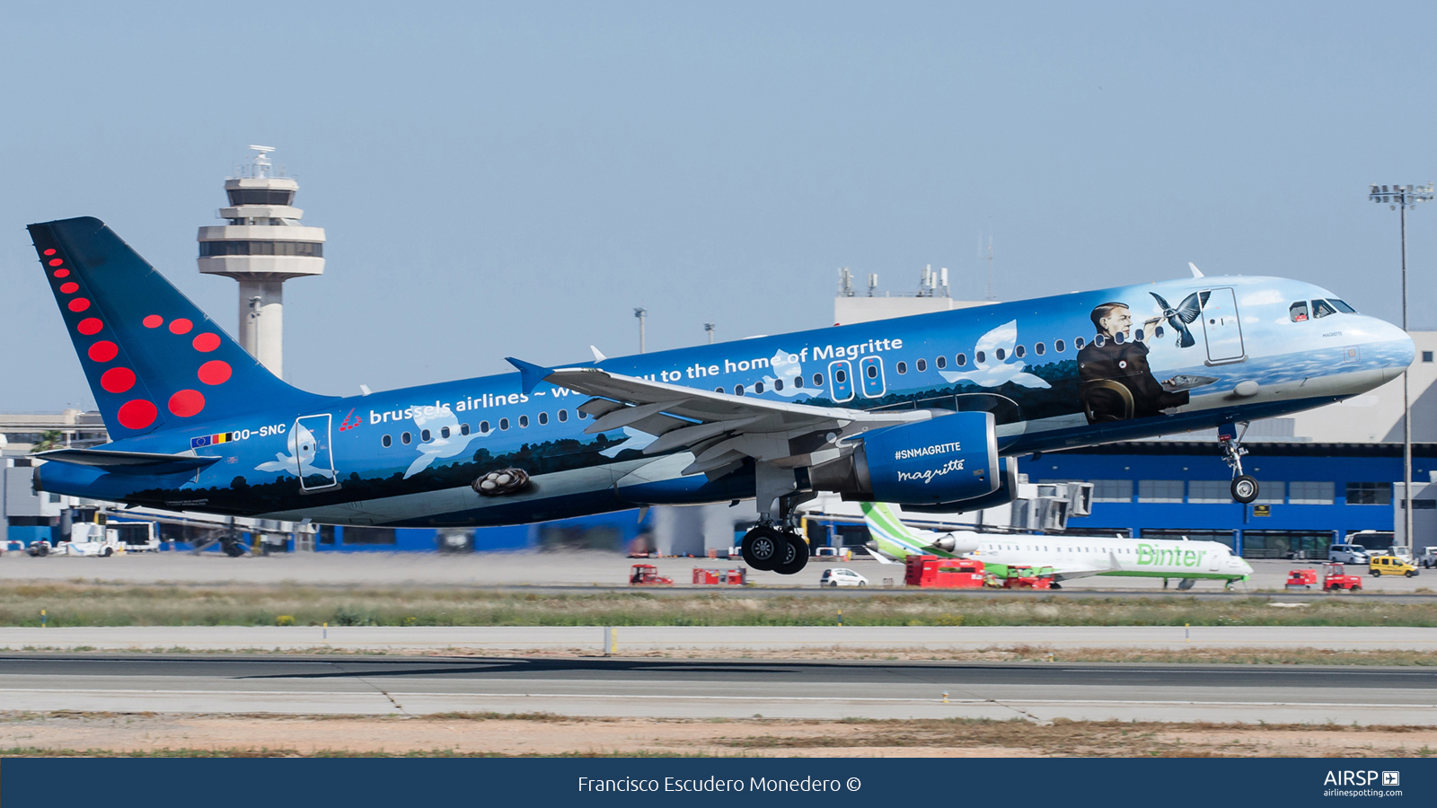 Brussels Airlines  Airbus A320  OO-SNC