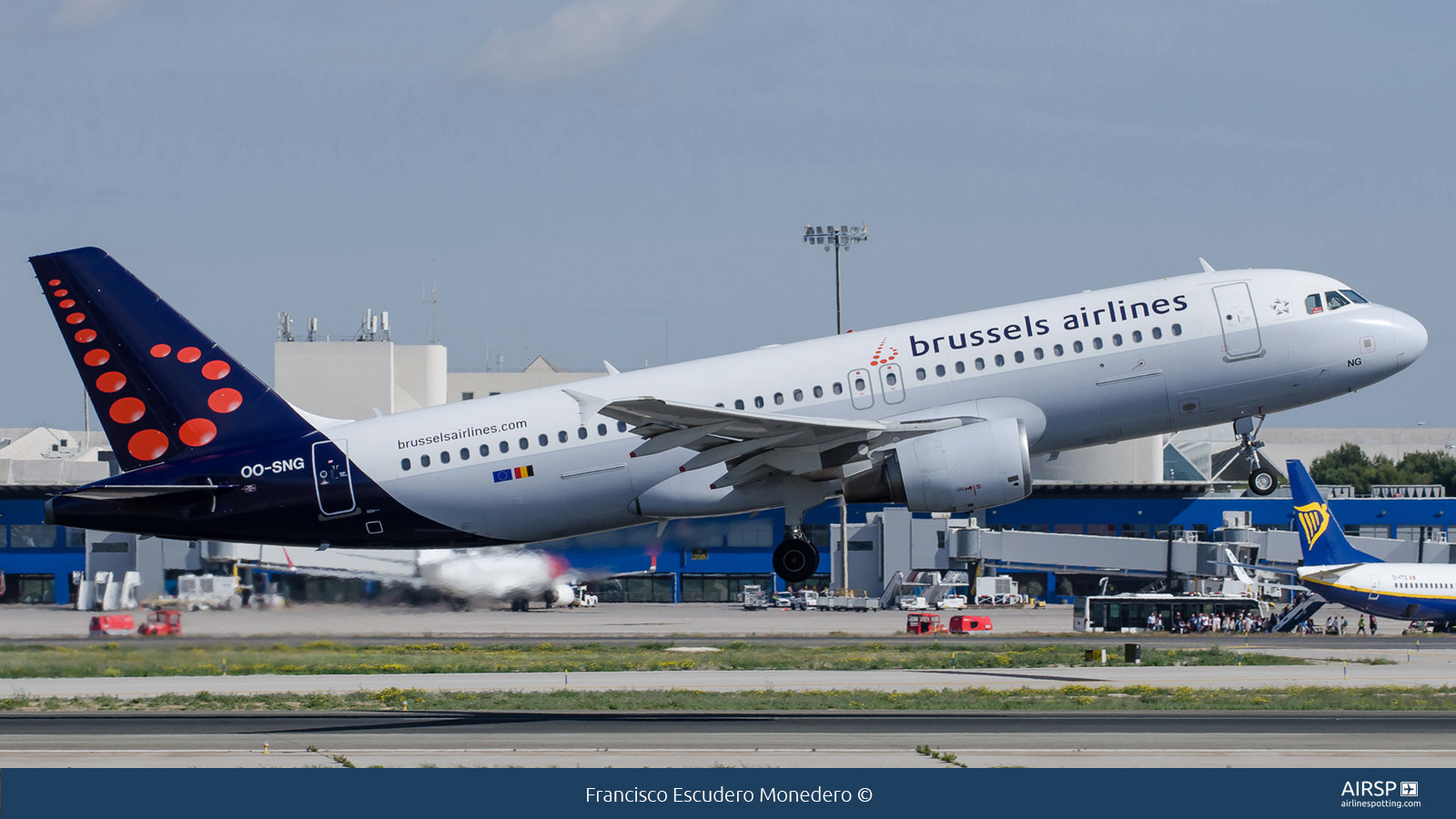 Brussels Airlines  Airbus A320  OO-SNG