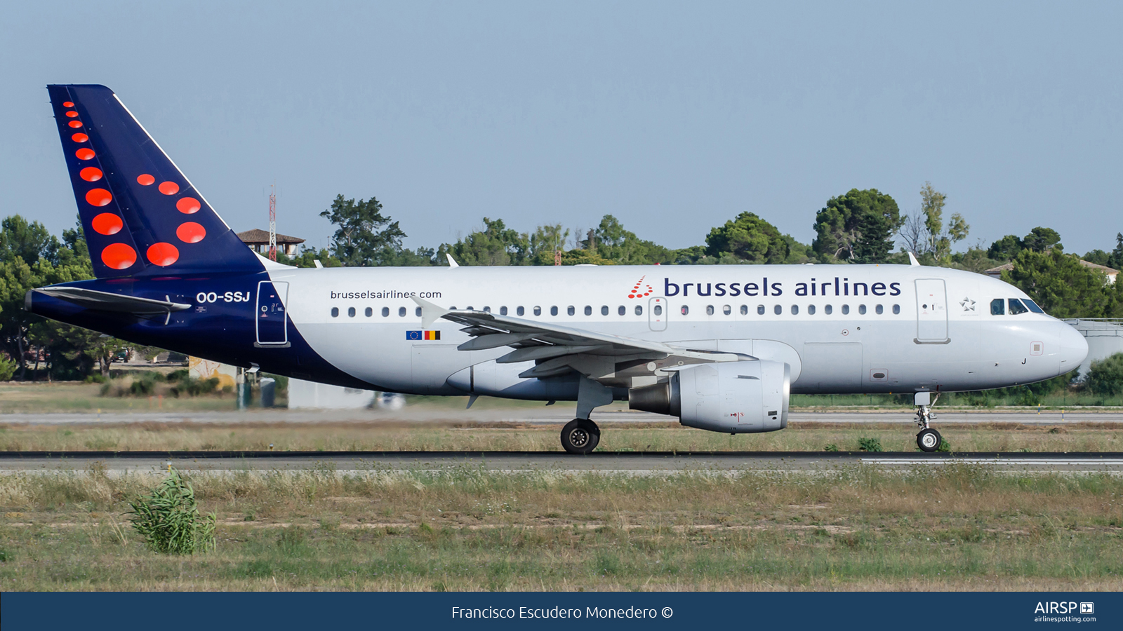 Brussels Airlines  Airbus A319  OO-SSJ