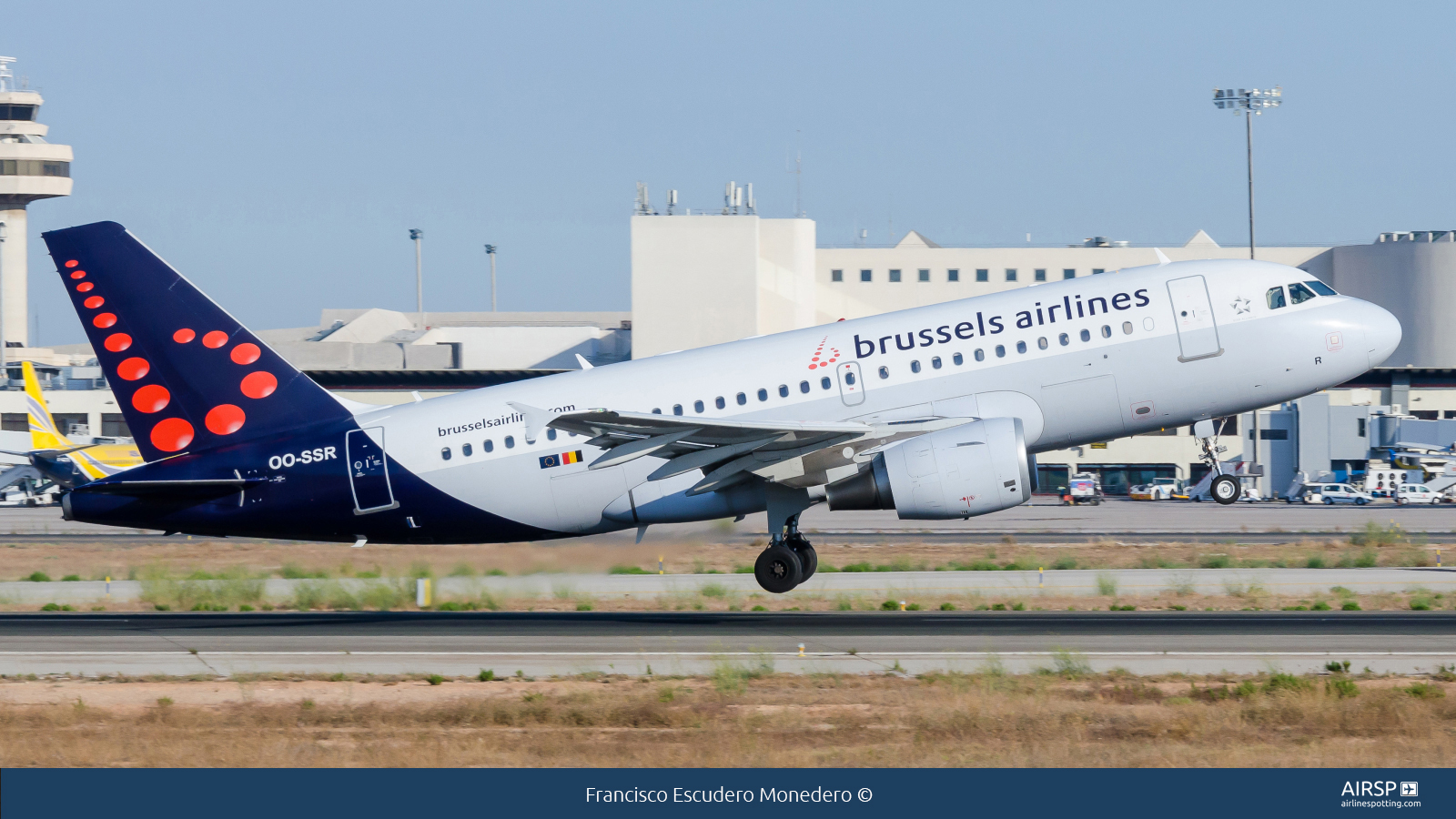 Brussels Airlines  Airbus A319  OO-SSR
