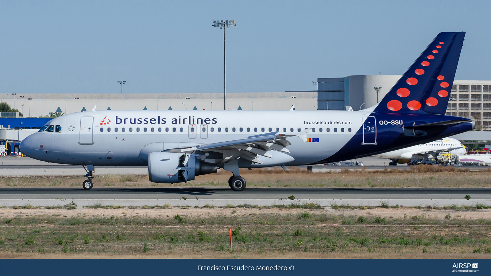 Brussels Airlines  Airbus A319  OO-SSU