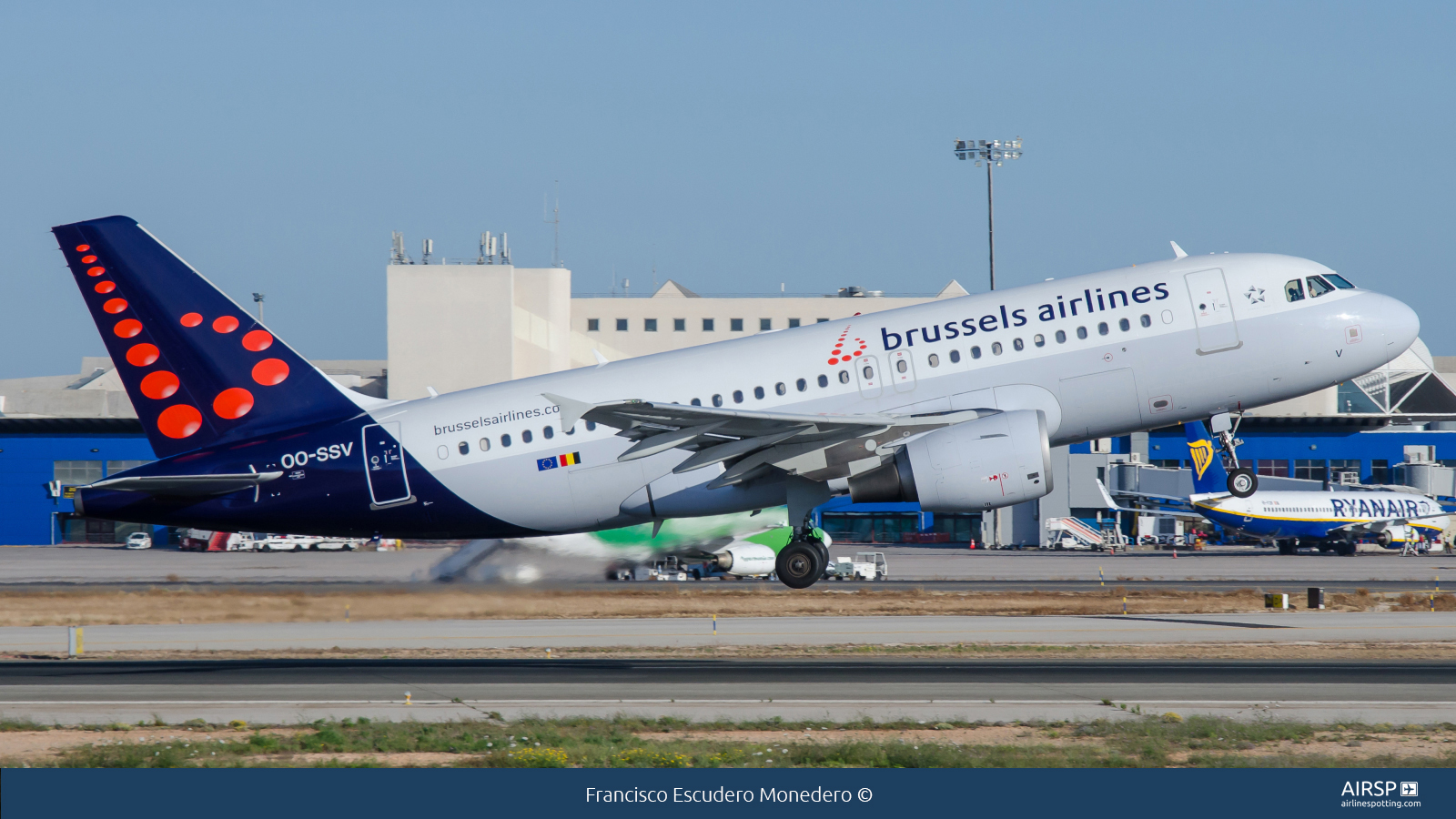Brussels Airlines  Airbus A319  OO-SSV