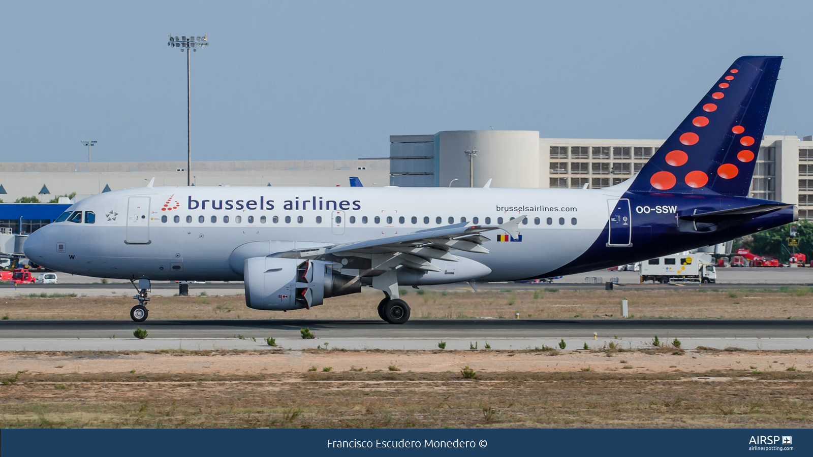 Brussels Airlines  Airbus A319  OO-SSW