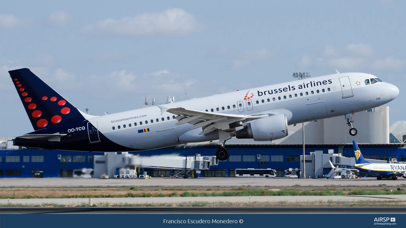 Brussels Airlines  Airbus A320  OO-TCQ