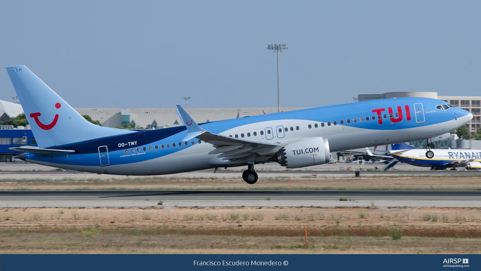 Tui Airways  Boeing 737 Max 8  OO-TMY