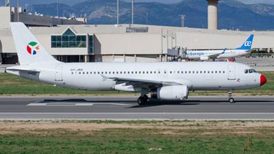DAT Danish Air Transport Airbus A320