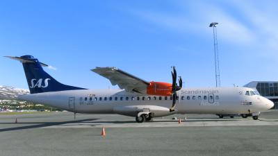 SAS Scandinavian Airlines ATR-72