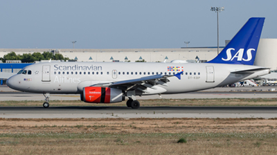 SAS Scandinavian Airlines Airbus A319