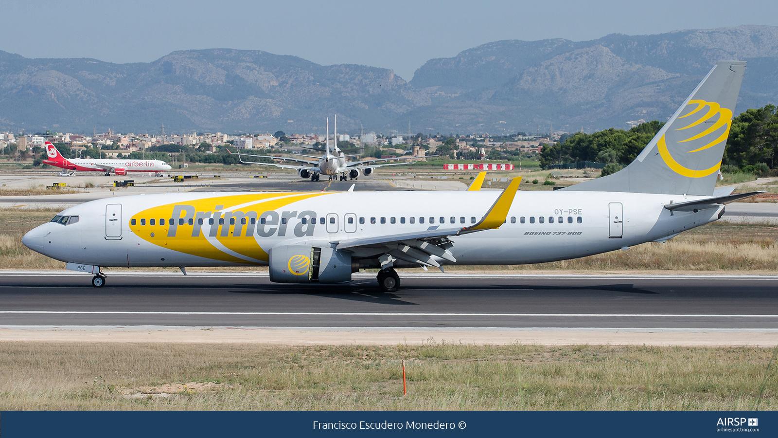 Primera AirBoeing 737-800OY-PSE