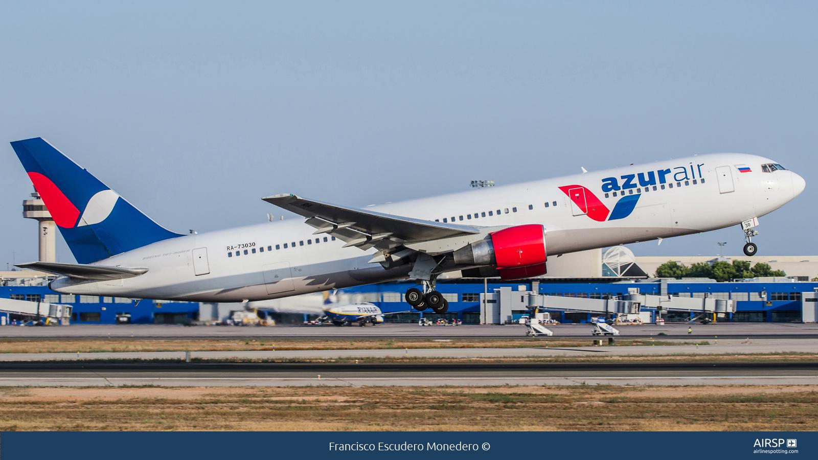 Azur Air  Boeing 767-300  RA-73030