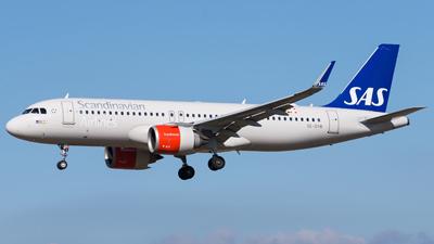 SAS Scandinavian Airlines Airbus A320neo
