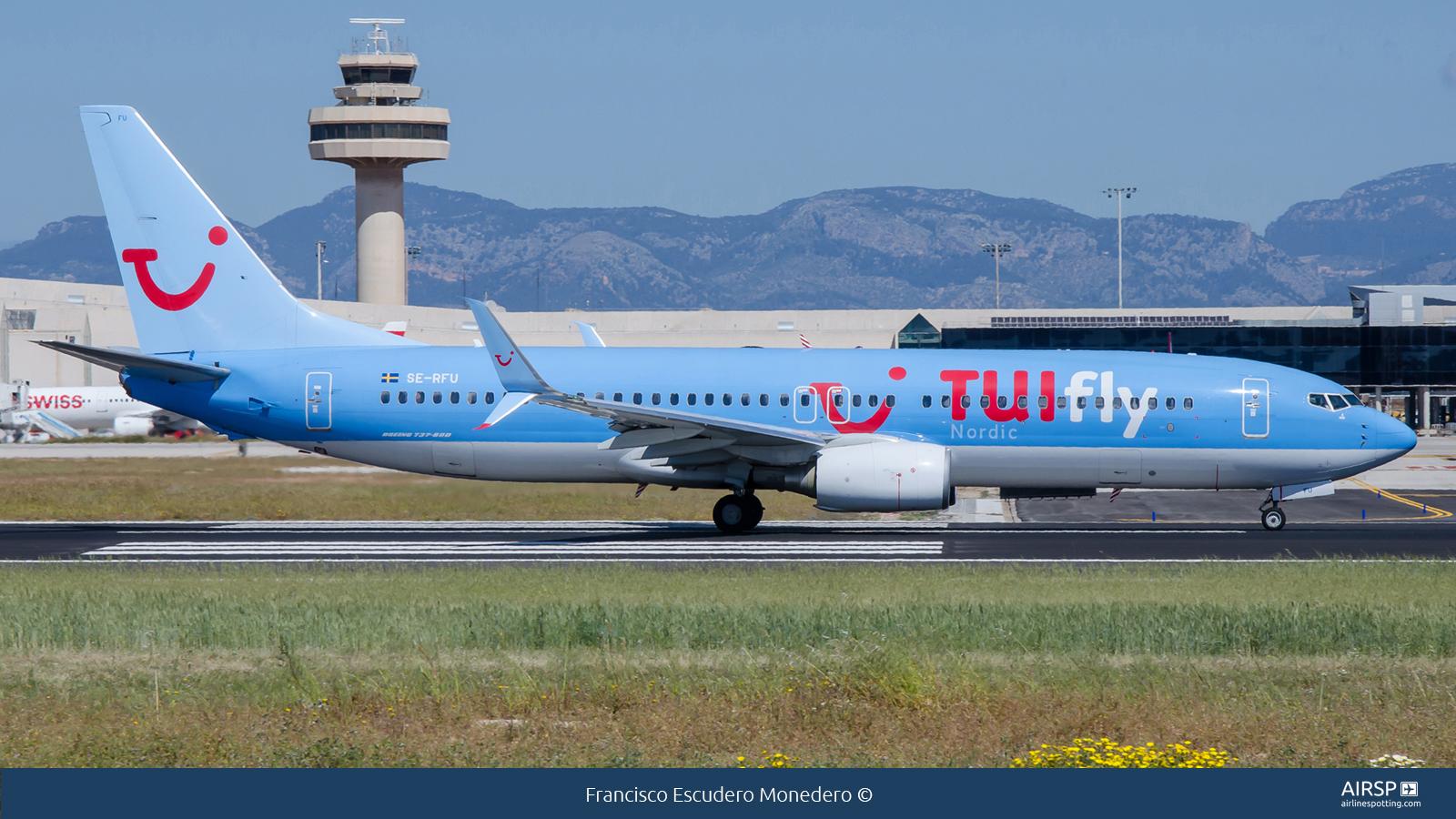 Tui Fly Nordic  Boeing 737-800  SE-RFU