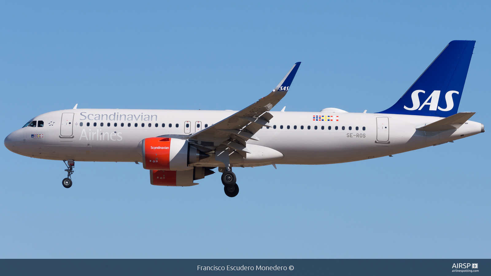 SAS Scandinavian Airlines  Airbus A320neo  SE-ROS