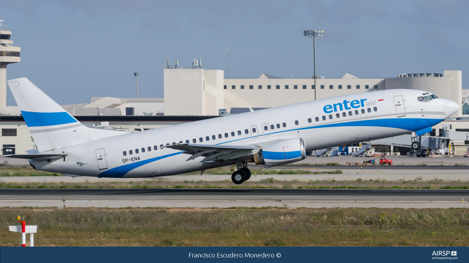 Enter AirBoeing 737-400SP-ENA