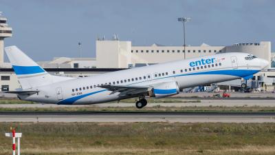 Enter Air Boeing 737-400