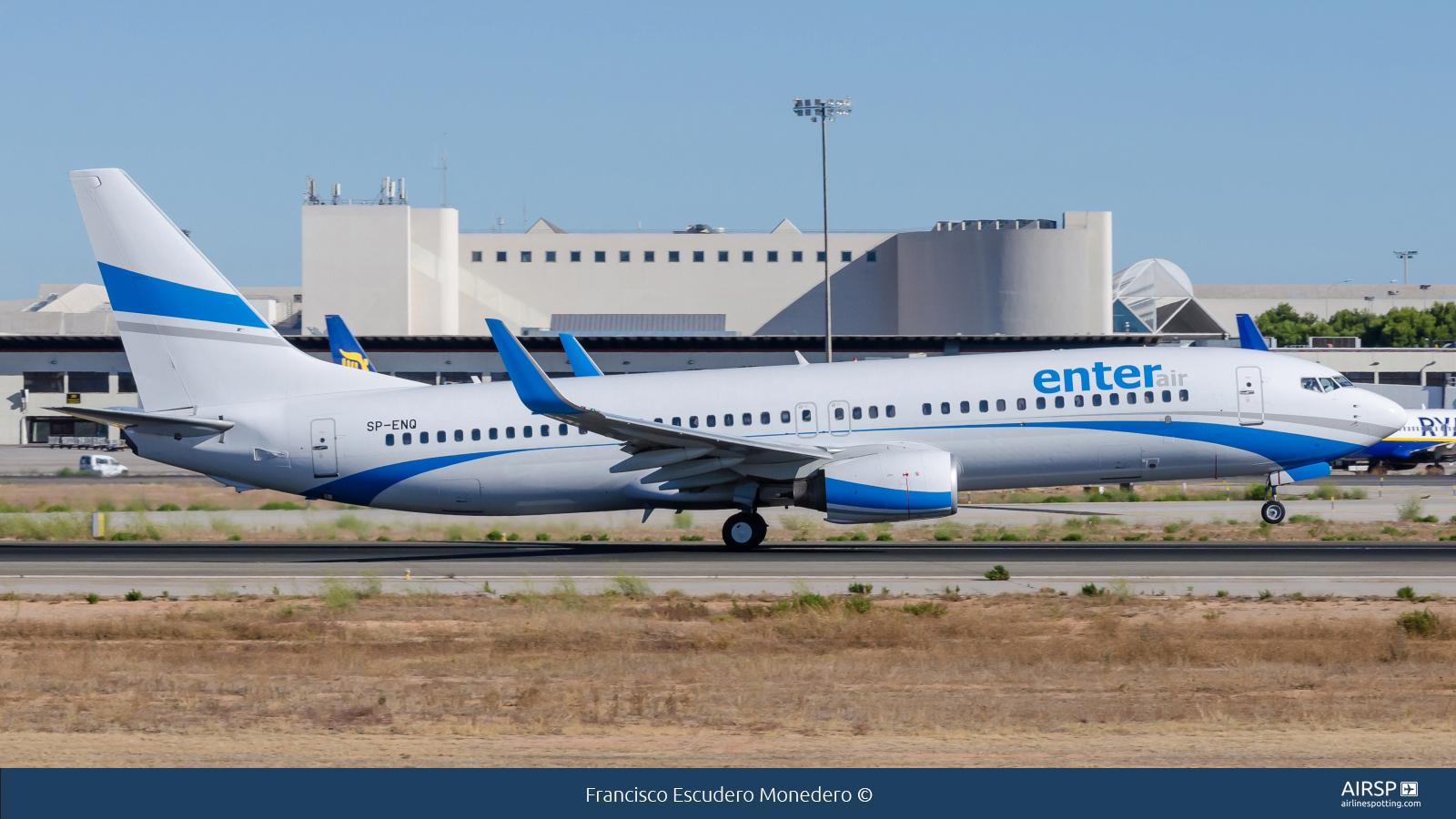 Enter Air  Boeing 737-800  SP-ENQ