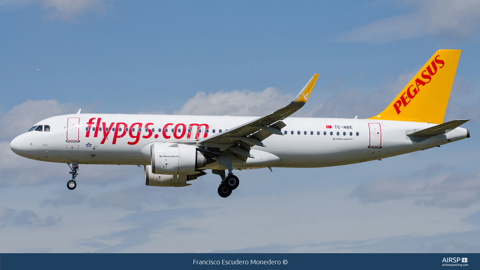 Pegasus Airlines  Airbus A320neo  TC-NBE