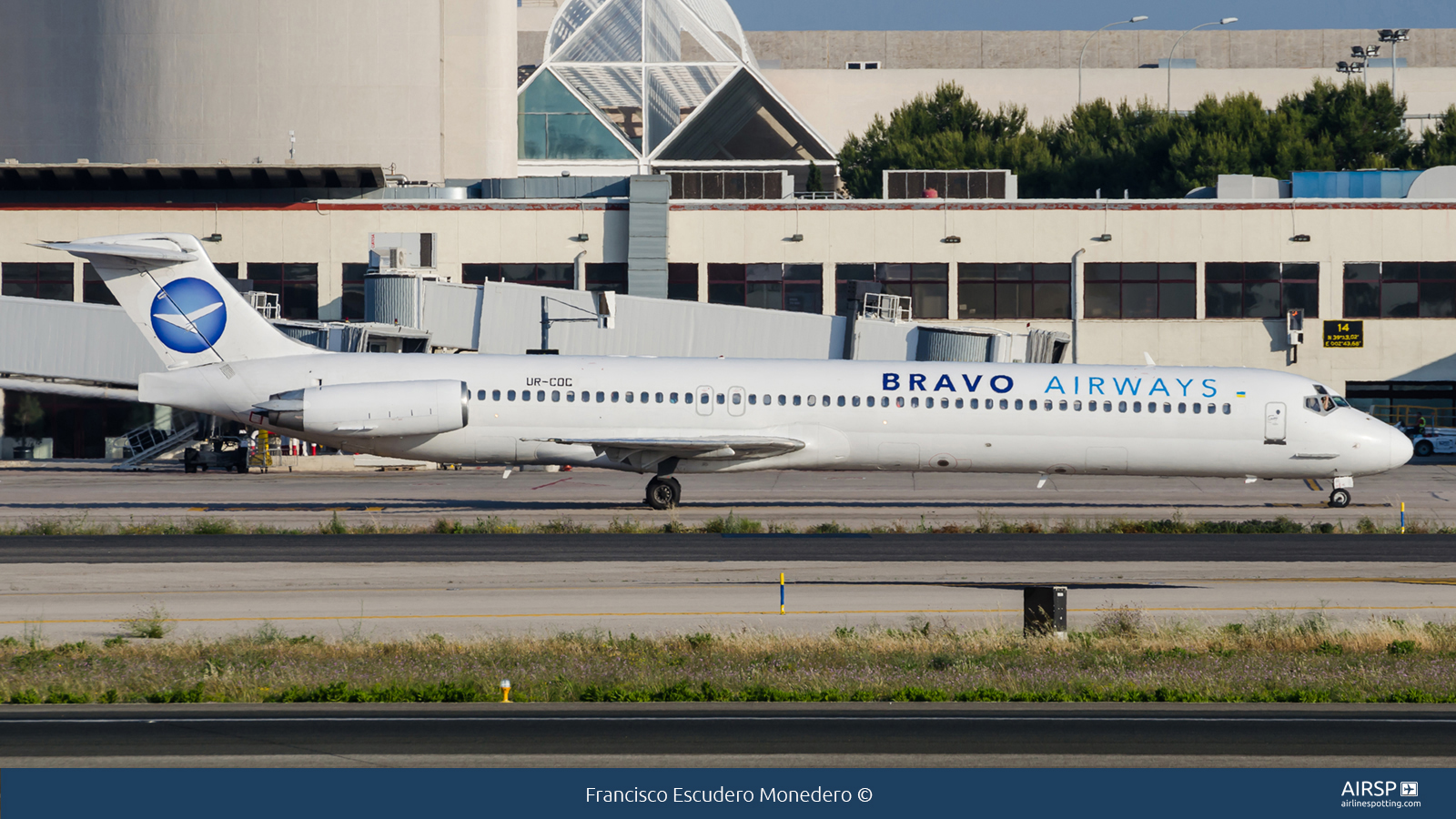 Bravo Airways  MD-83  UR-COC
