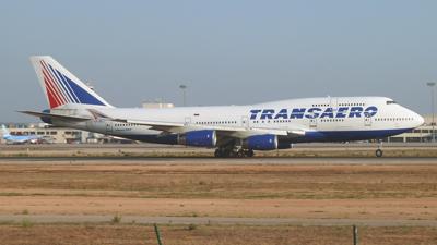 Transaero Airlines Boeing 747-400