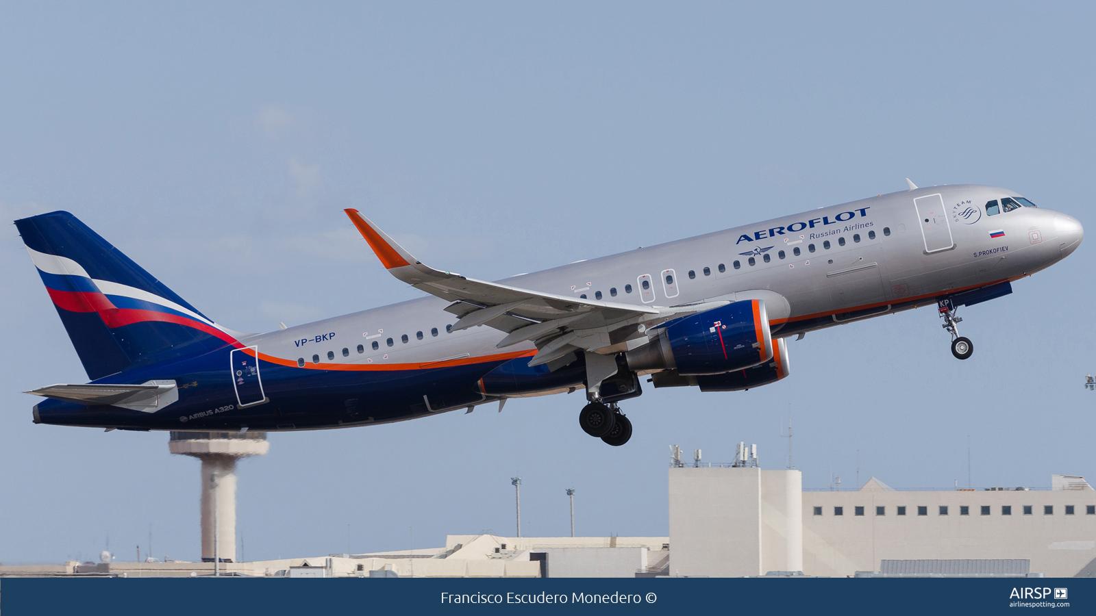 Aeroflot  Airbus A320  VP-BKP