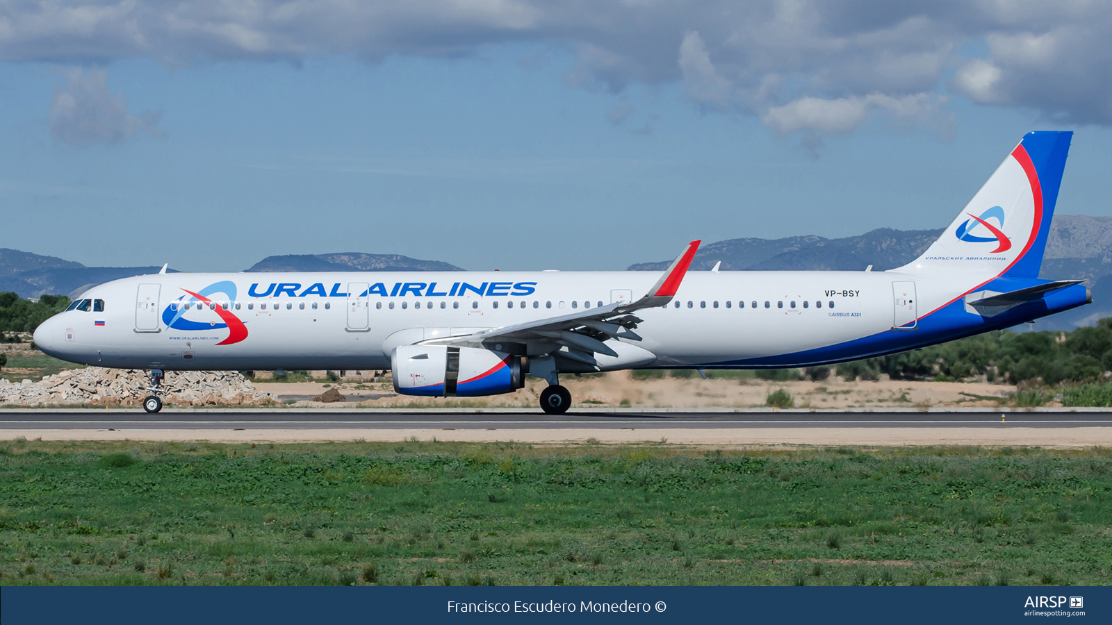 Ural Airlines  Airbus A321  VP-BSY