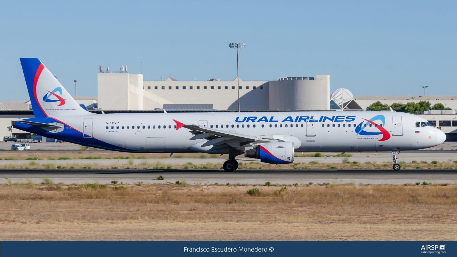 Ural AirlinesAirbus A321VP-BVP