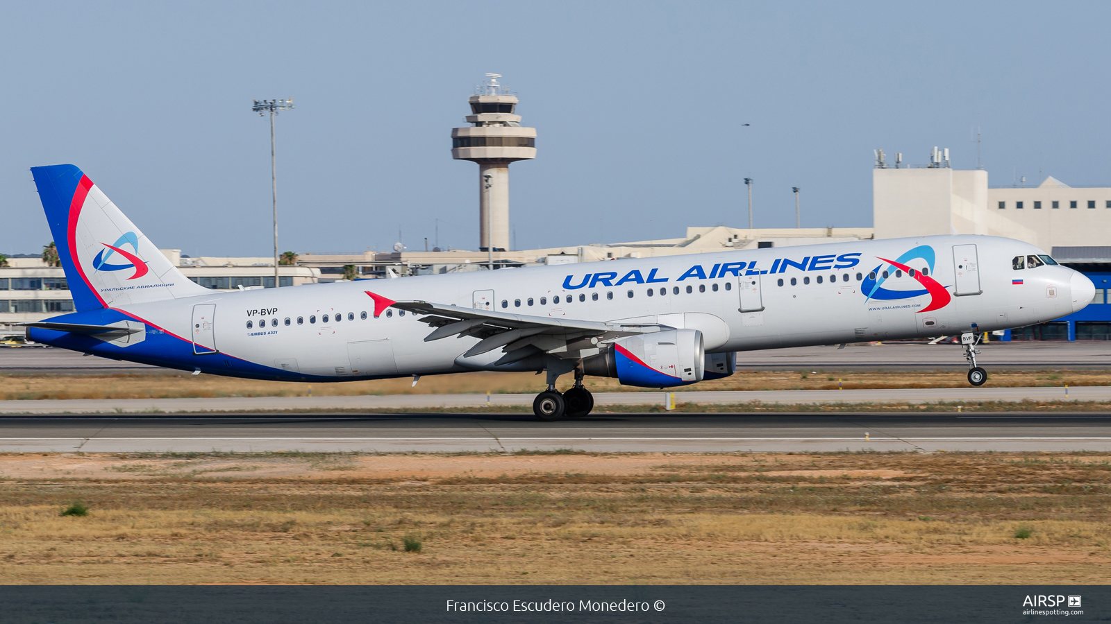 Ural Airlines  Airbus A321  VP-BVP