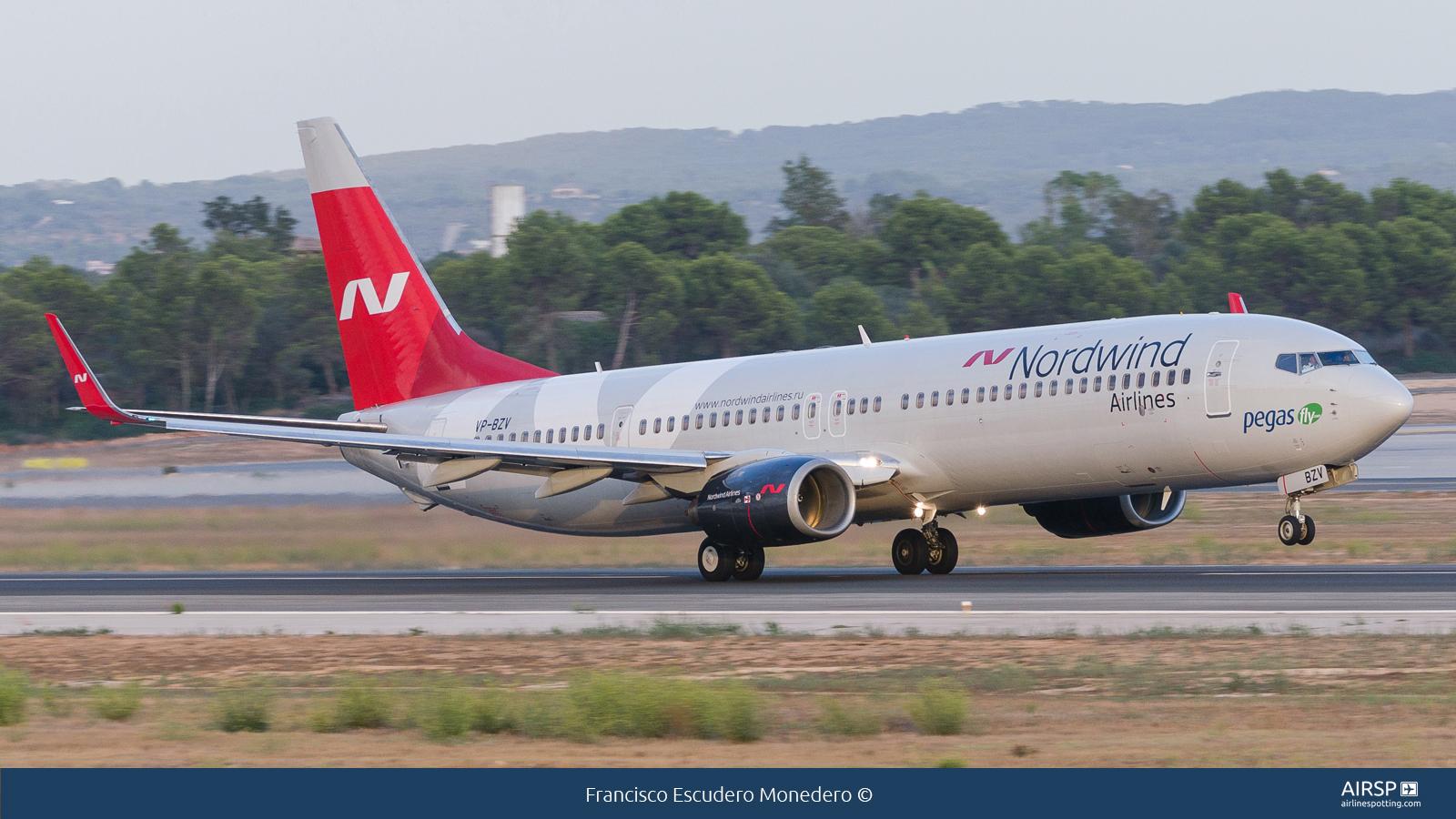Nordwind Airlines  Boeing 737-900  VP-BZV