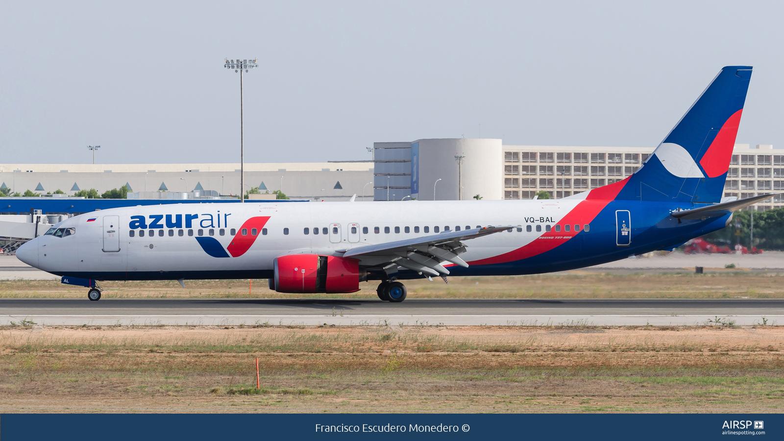 Azur Air  Boeing 737-800  VQ-BAL