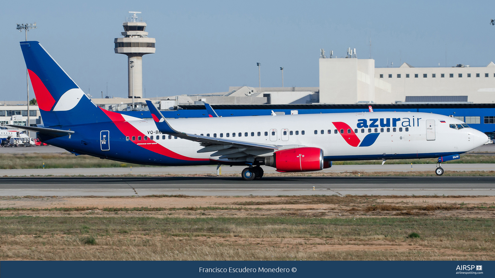 Azur Air  Boeing 737-800  VQ-BMW