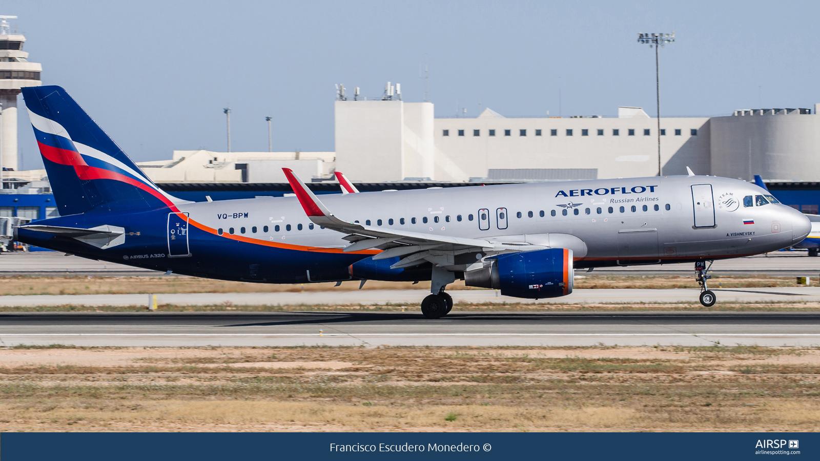 Aeroflot  Airbus A320  VQ-BPW