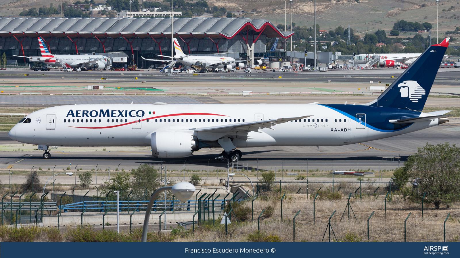Aeromexico  Boeing 787-9  XA-ADH