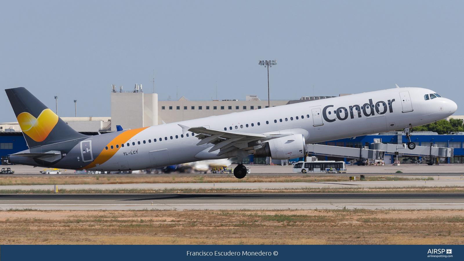 Condor  Airbus A321  YL-LCY