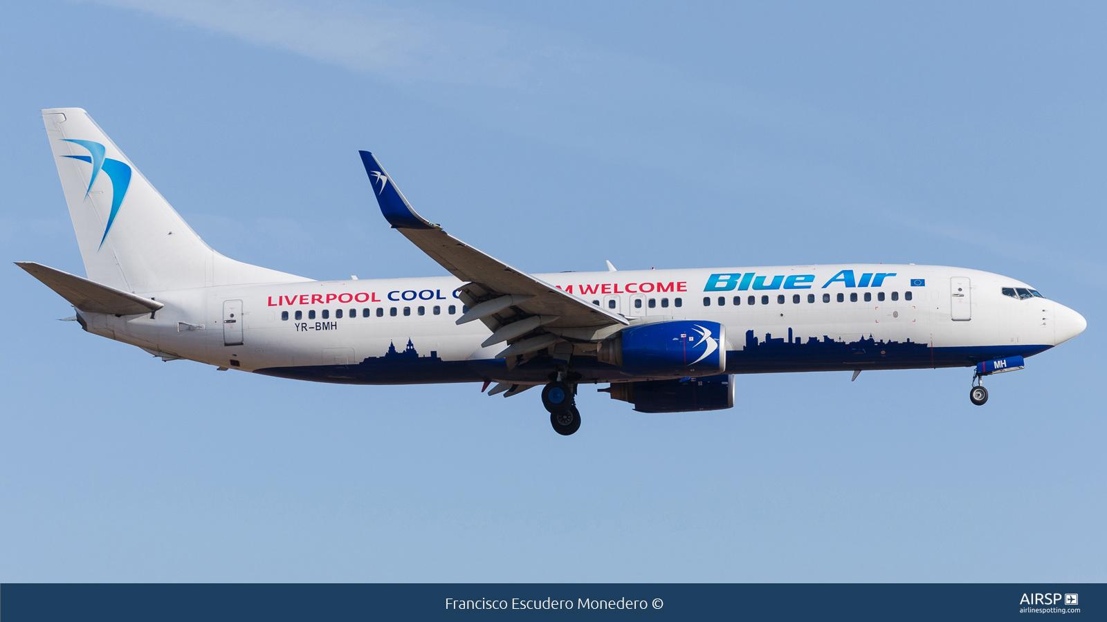 Blue Air  Boeing 737-800  YR-BMH