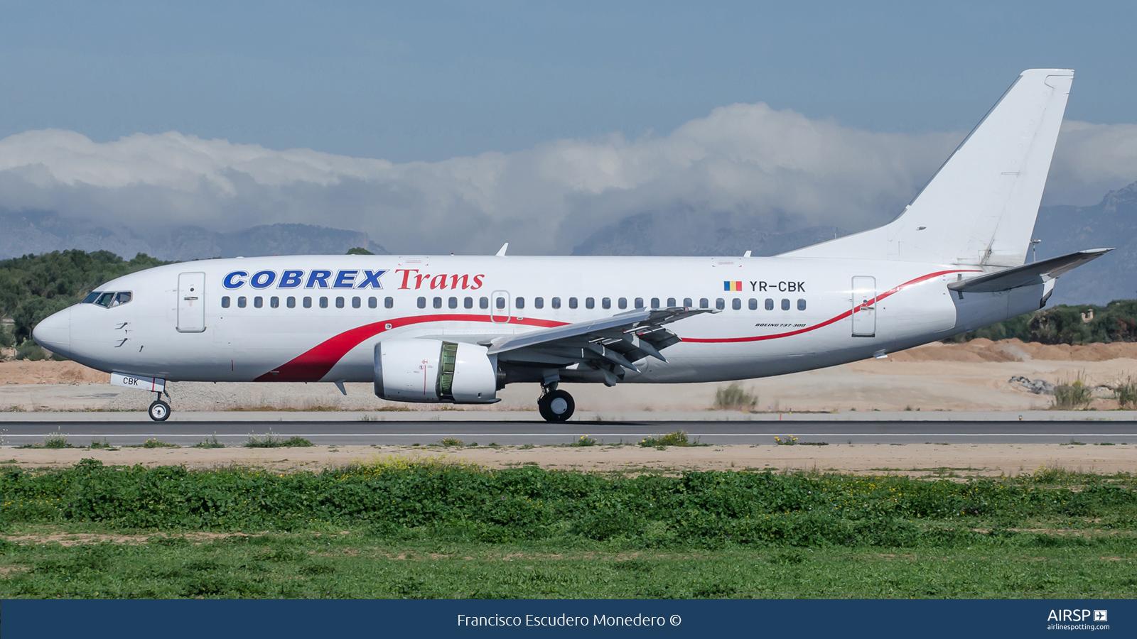 Cobrex Trans  Boeing 737-300  YR-CBK