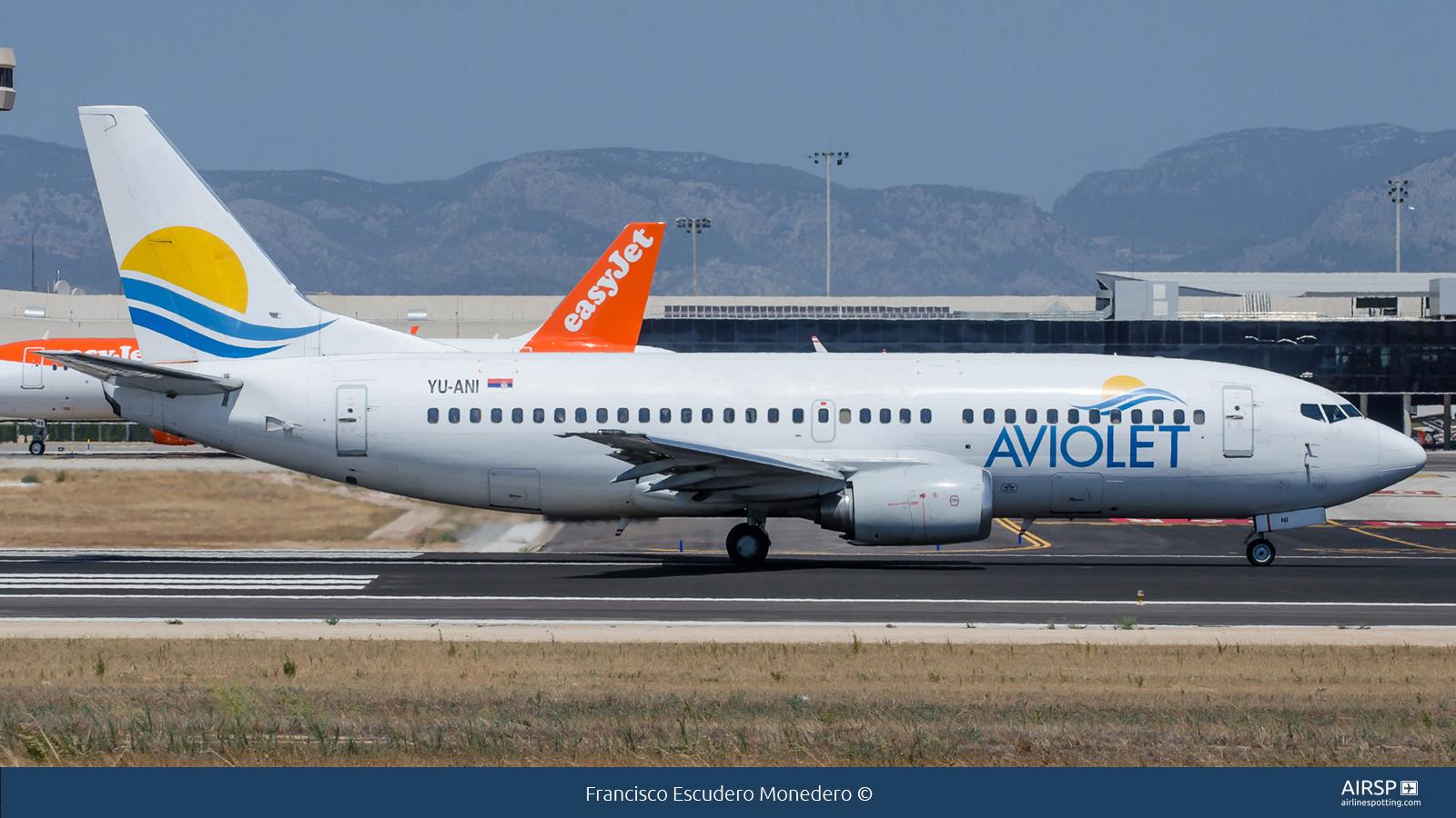 Aviolet  Boeing 737-300  YU-ANI